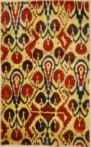 Fine Silk Ikat rugs and more oriental carpet 31389-