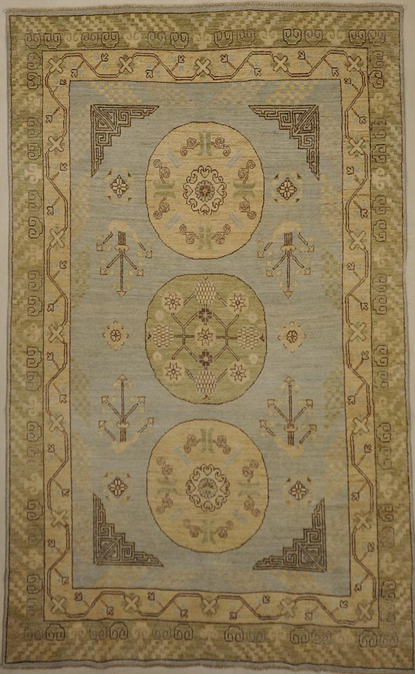 Finest Ziegler Khotan rugs and more oriental carpet 46885-