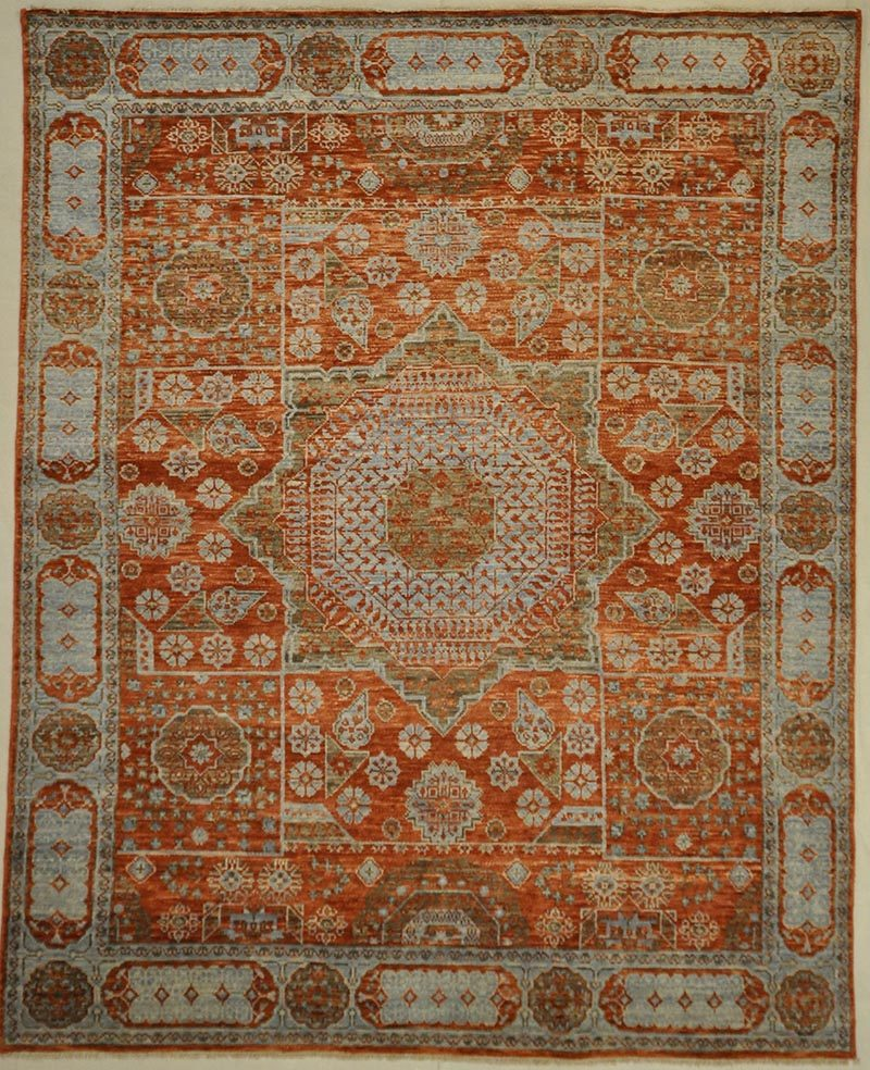 Modern Red rugs and more oriental carpet 31359-