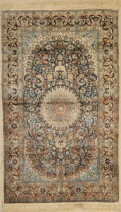 Finest Silk Tabriz rugs and more oriental carpet 31537-