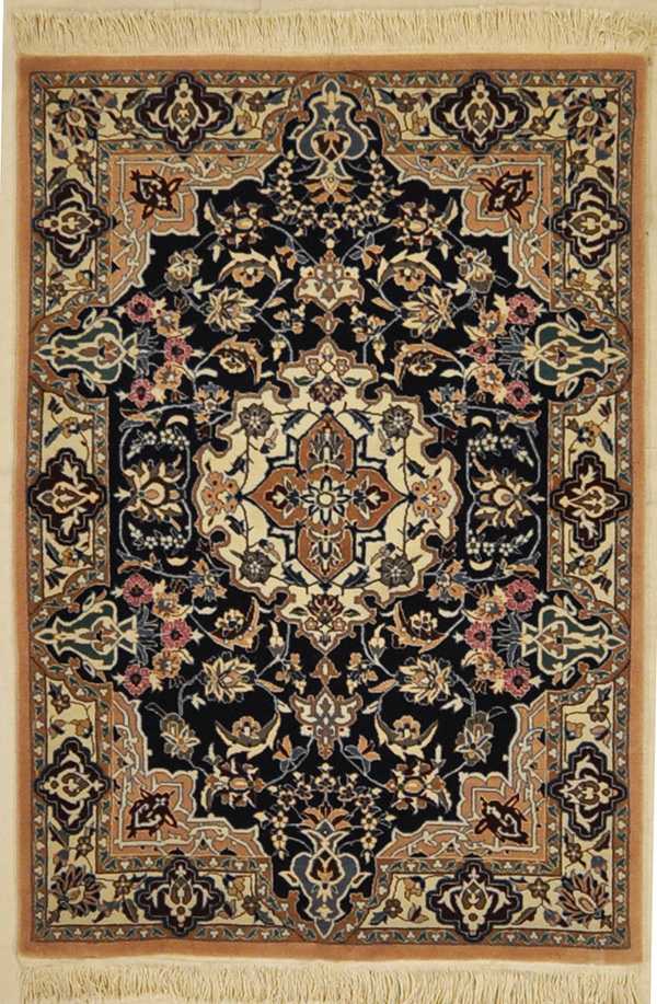 Nain Wool & Silk rugs and more oriental carpet 31534-