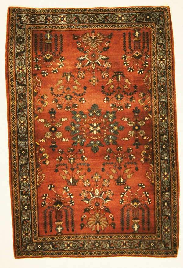 Red Floral rugs and more oriental carpet 45295-