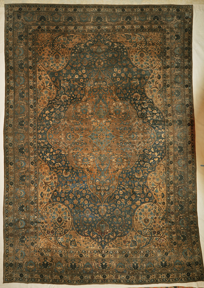 Antique Persian Haj-Jalili Tabriz rugs and more oriental carpet 31487-4