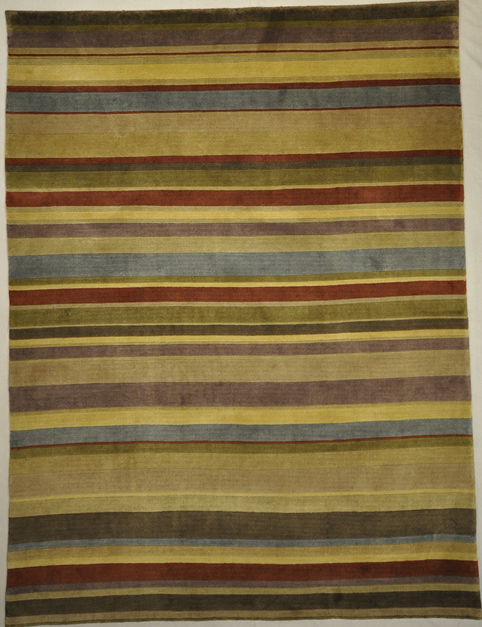 Modern Stripe Tibetan rugs and more oriental carpet 31439-