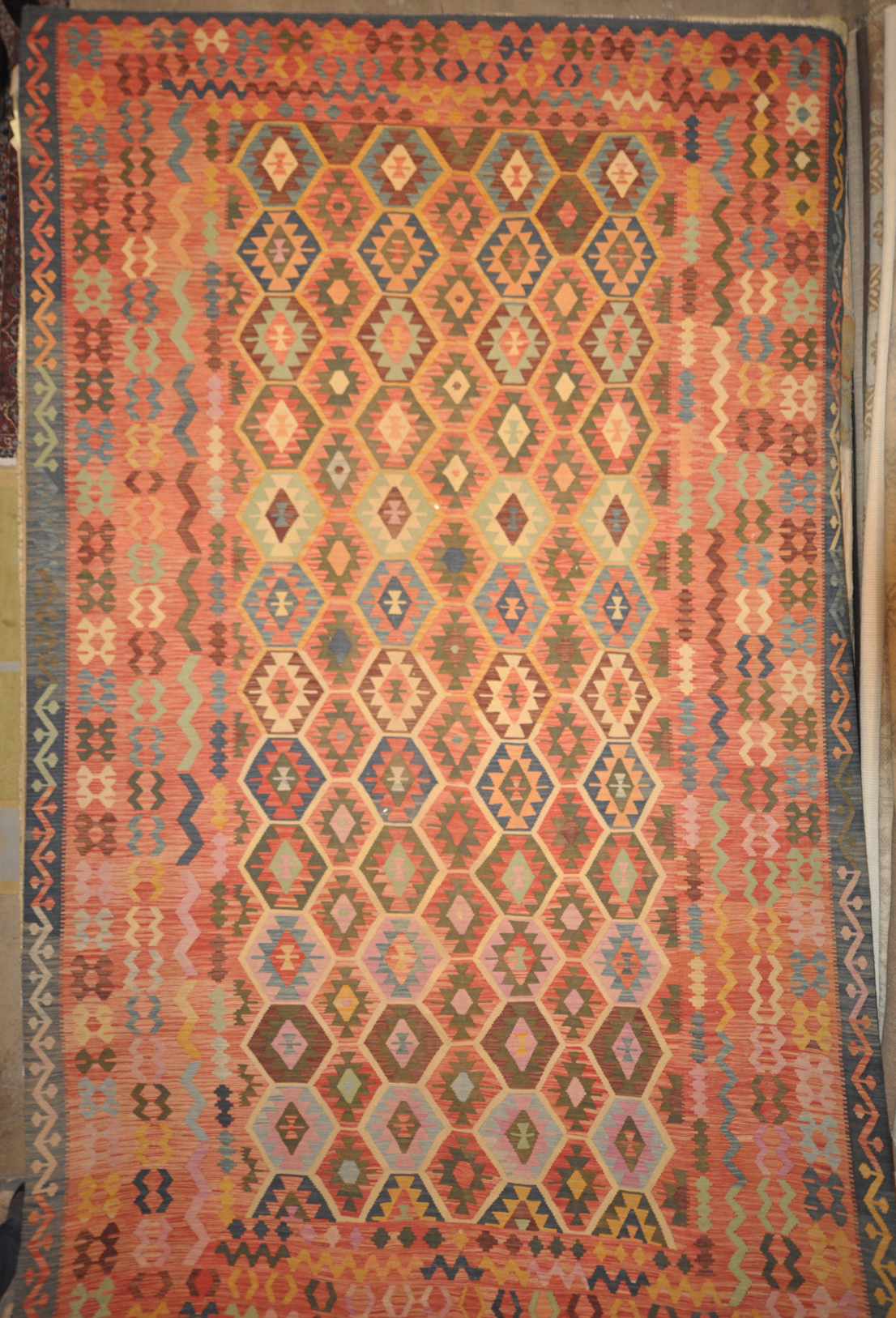 Tribal Kelim Rugs and more oriental carpet 28855-1
