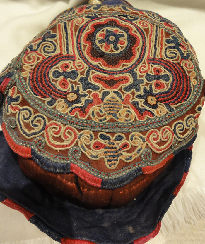 Antique Chinese Childrens hat Rugs & More