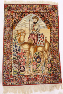 antique Kerman Ravar Rugs & More