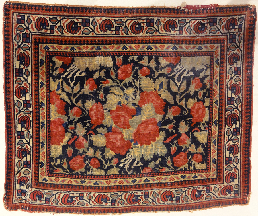 Antique Kurdish Bijar Rugs and More 1