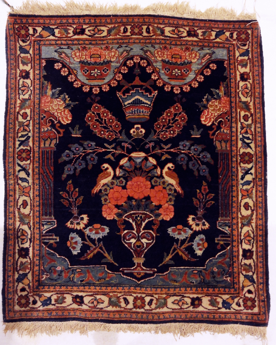 Antique Kashan Kurk Rugs and More