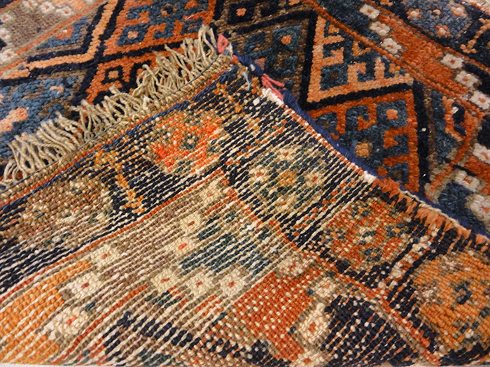 antique Kurdish Bagface Rugs and More 31833