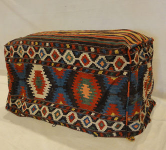 Antique Kelim Camel Bag Mafrash Rugs and More Oriental carpet