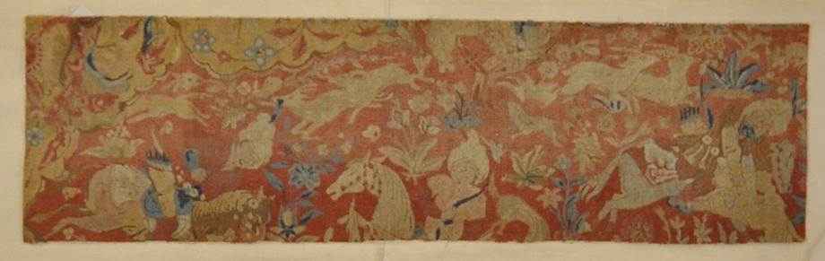 Mughal Pashmina Rug fragment rugs and more oriental carpet 31793-