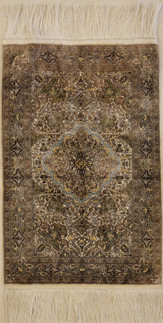 Finest Silk Tabriz rugs and more oriental carpet 31792-