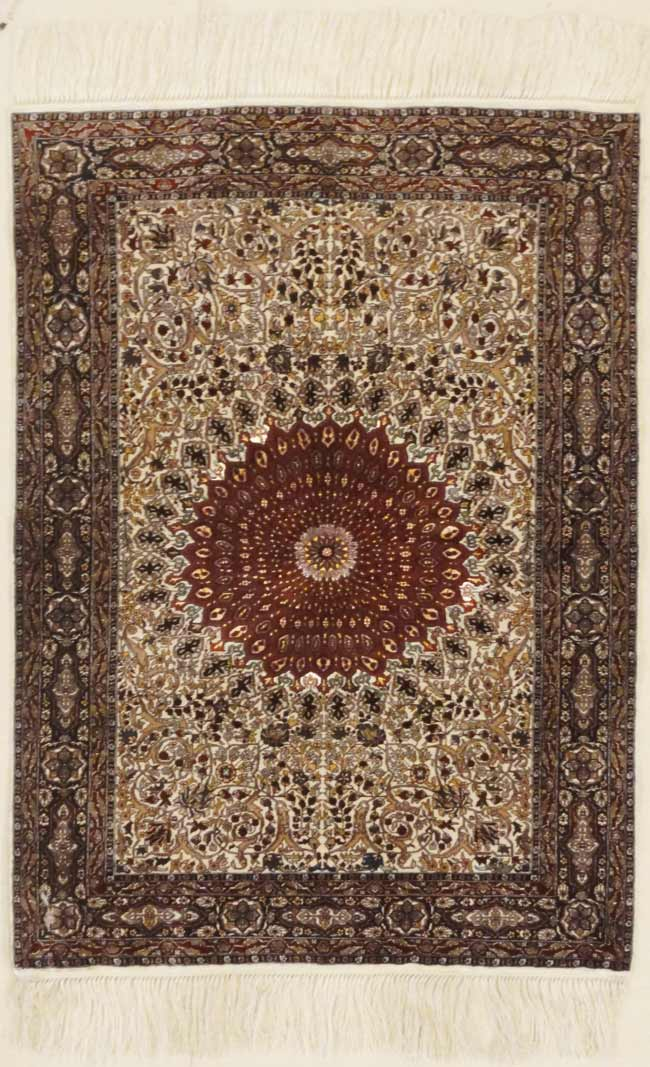 Finest Silk Tabriz rugs and more oriental carpet 31791-
