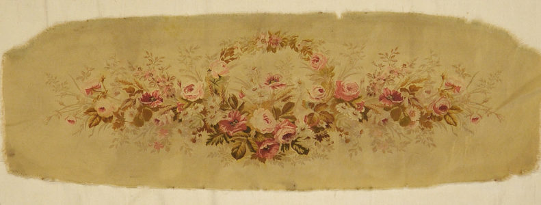 Antique French Bench Cover rugs and more oriental carpet 31779-