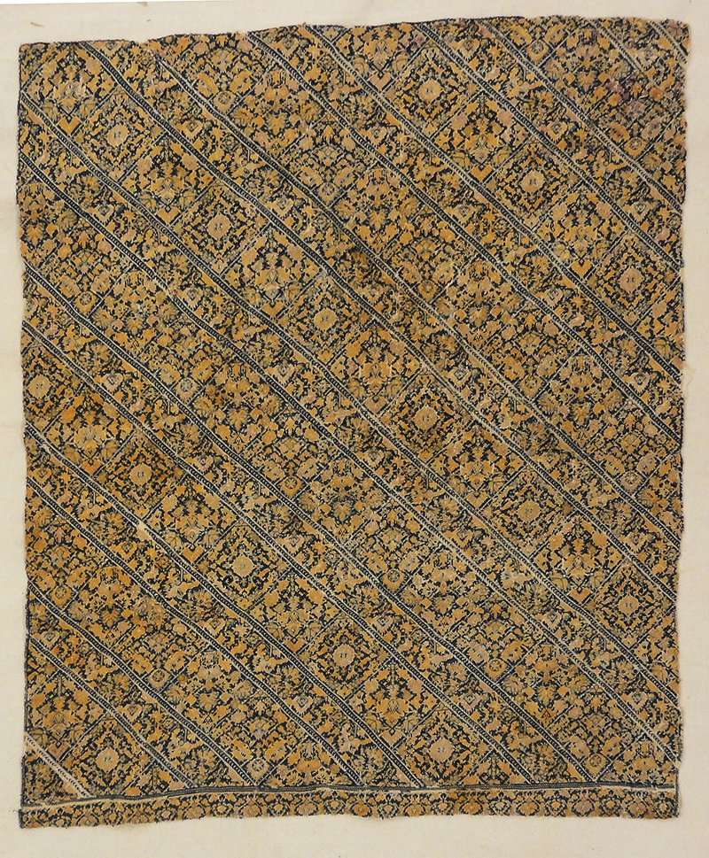 Panel of Early Nagsh Embroidery rugs and more oriental capret 31747-