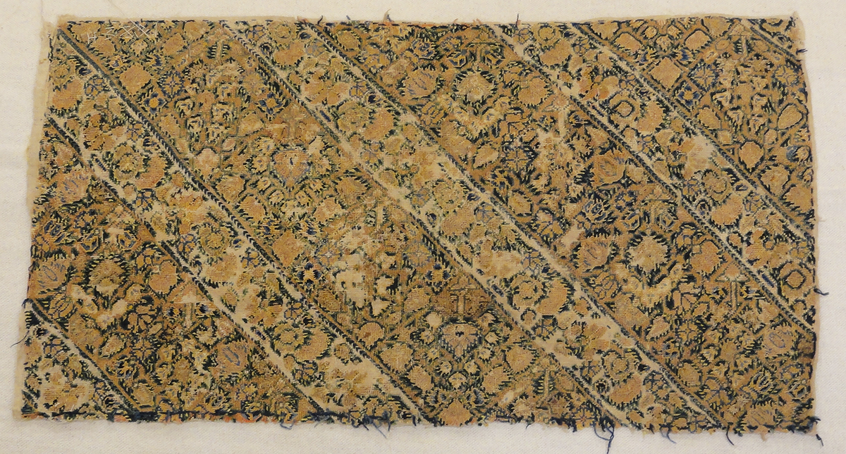 Panel of Early Embroidery rugs and more oriental carpet 31746-