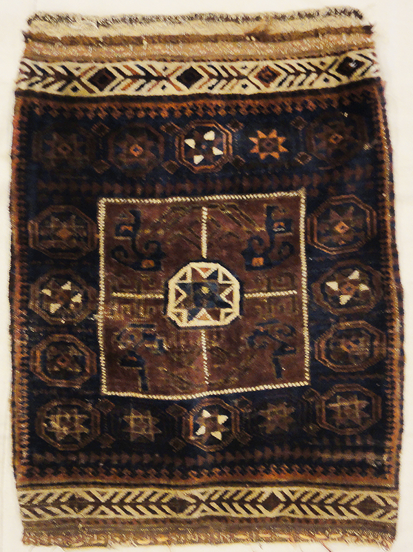 Antique Baluch Tribal Bagface rugs and more oriental carpet 31681-