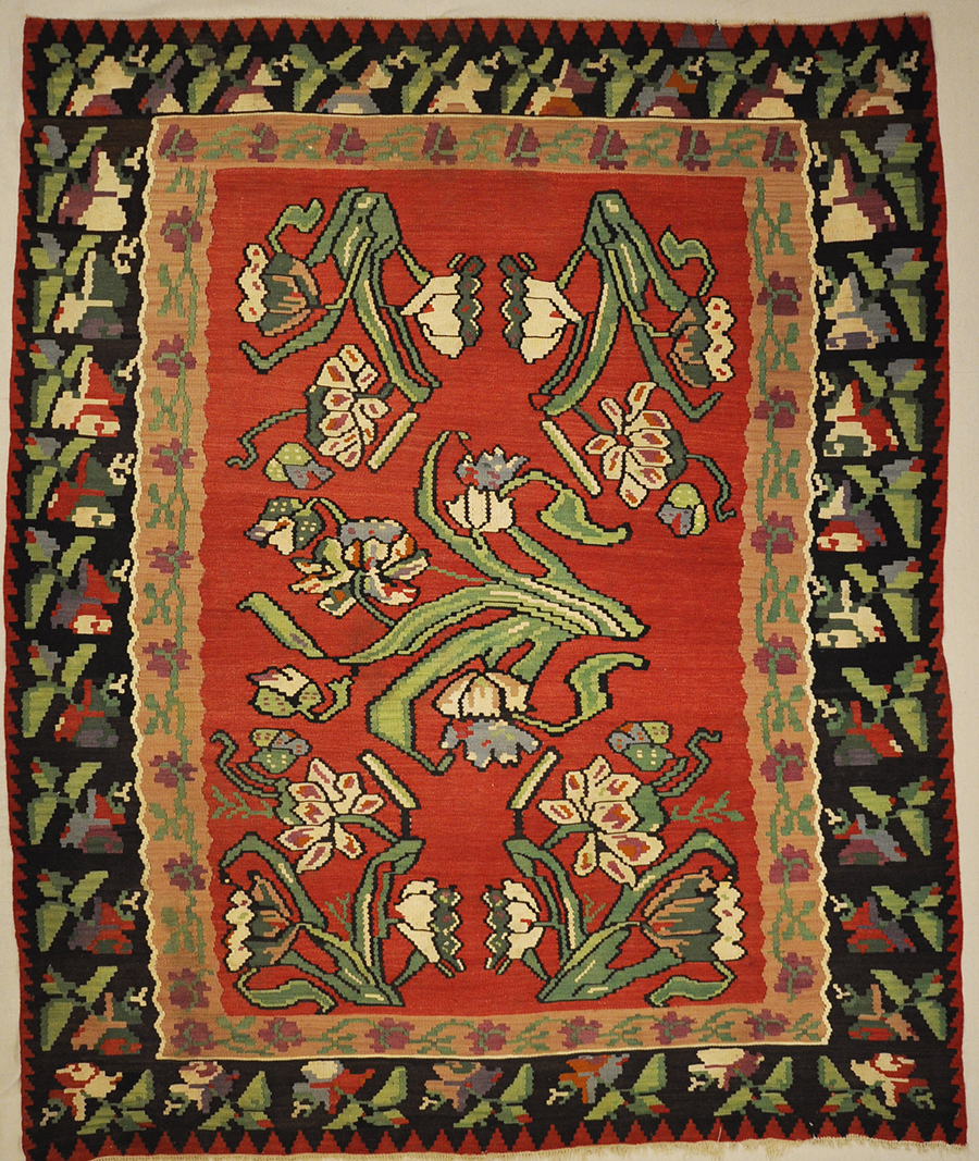 Antique Bessarabian Kelim Rugs & more Oriental Carpets