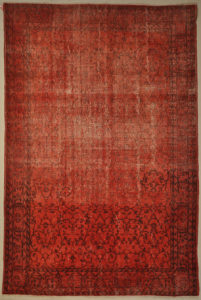 Vintage Red Overdye Rugs & More Oriental Carpets 32239