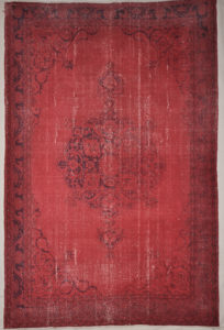 Vintage Red Overdye Rugs & More Oriental Carpets 32238