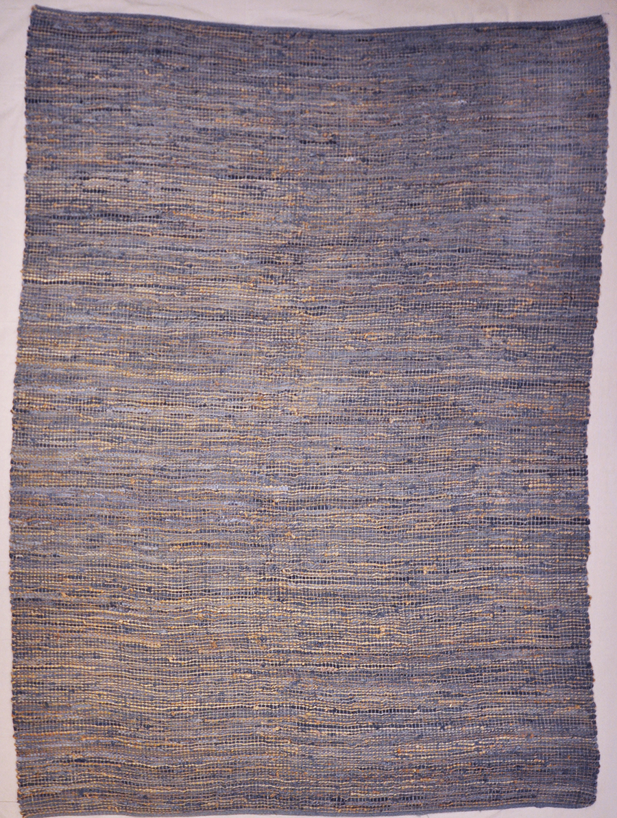 Leather weave rug Rugs & More 32219 5