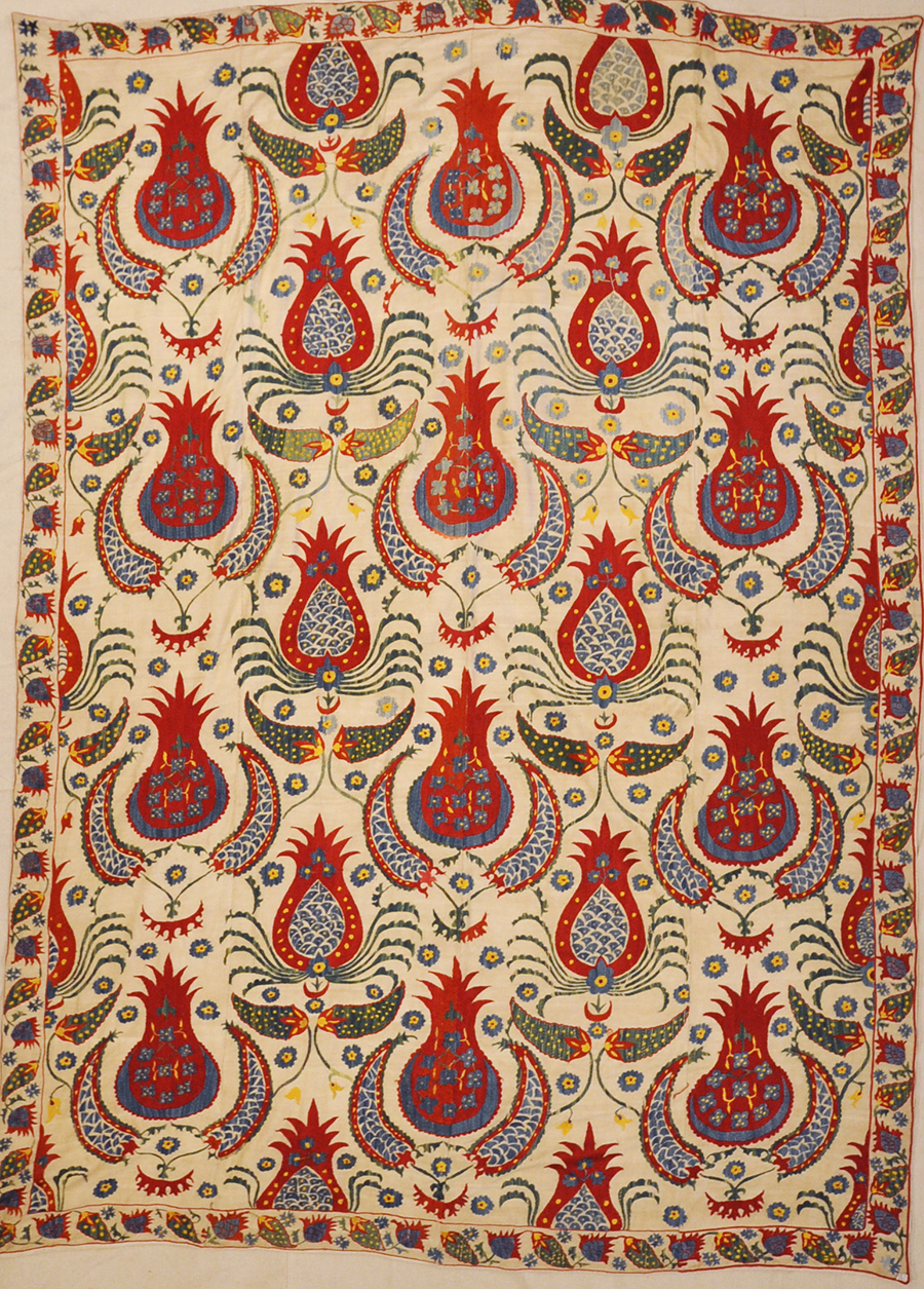 Ottomon Suzani Rugs & More Oriental Carpets 27701.
