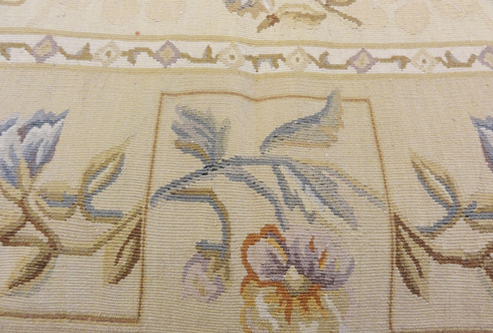 Flower Aubusson Rugs & More Oriental Carpets