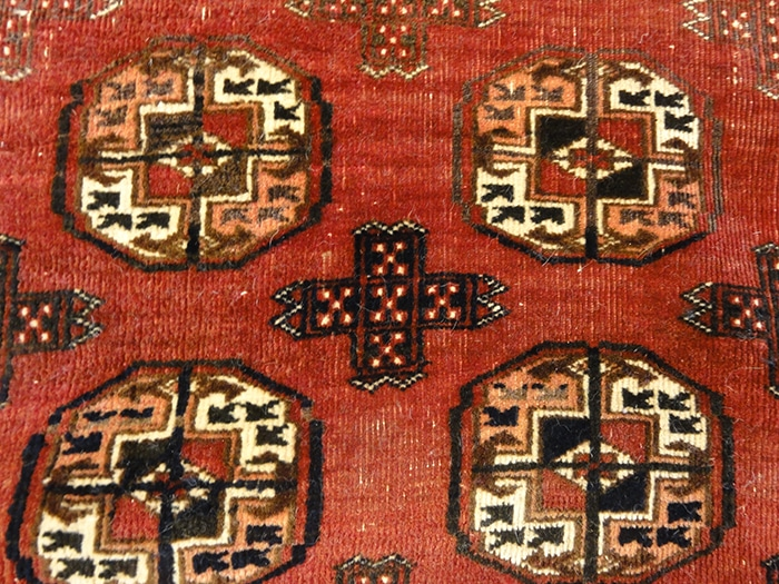 Antique Turkoman Rugs & More Oriental Carpets 32344
