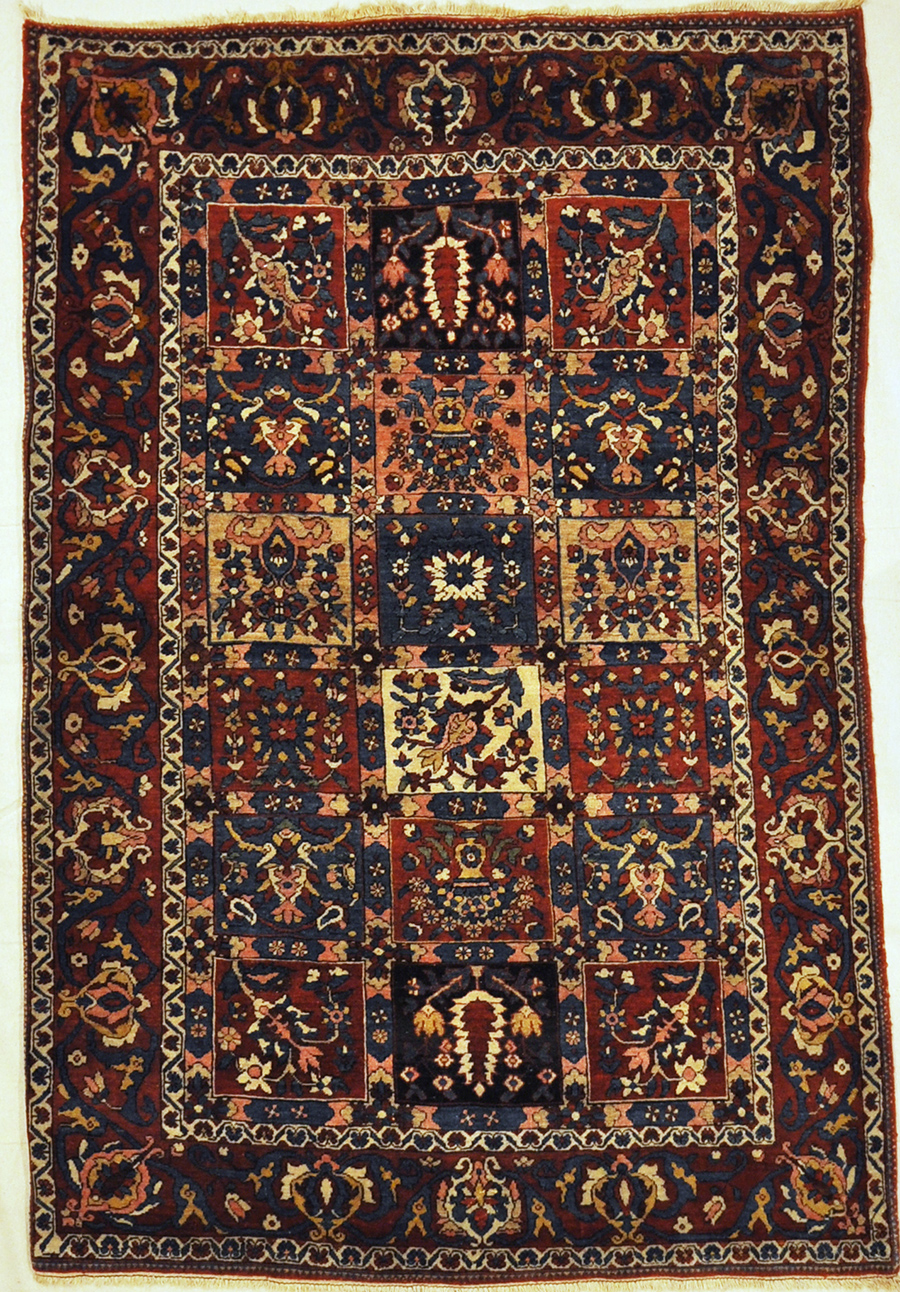 Antique Bakhtiari Rugs & More Oriental Carpets