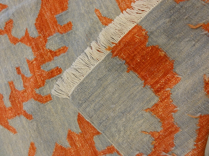 Modern Indian Kelim | Rugs and More | Santa Barbara Design Center