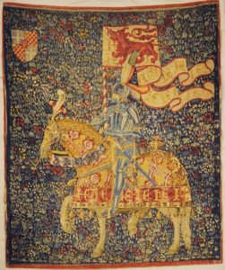 Knight and Horse Tapestry | Rugs and More | Santa Barbara Design