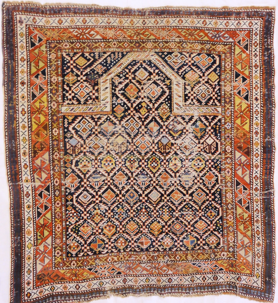 Shirvan Prayer Rug | Rugs and More | Santa Barbara Design Center