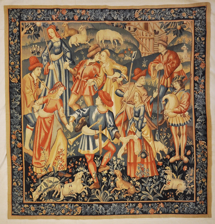 Harvest Dance Tapestry