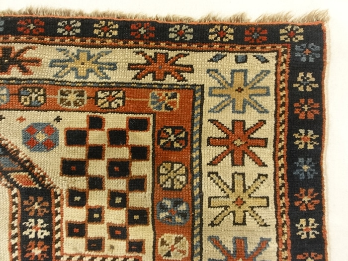 Antique Shirvan Prayer Rug