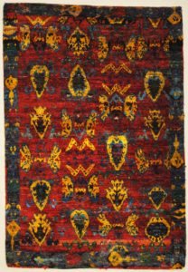 Silk Vintage Uzbek Design Santa Barbara Design Center | Rugs and More | Oriental Carpets 32482