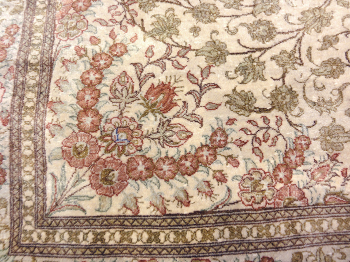 Silk Qum rug | Rugs and More | Santa Barbara Design Center
