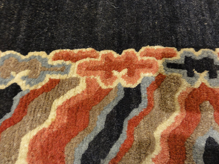 Small Antique Tibetan Rug | Rugs and More | Santa Barbara Design