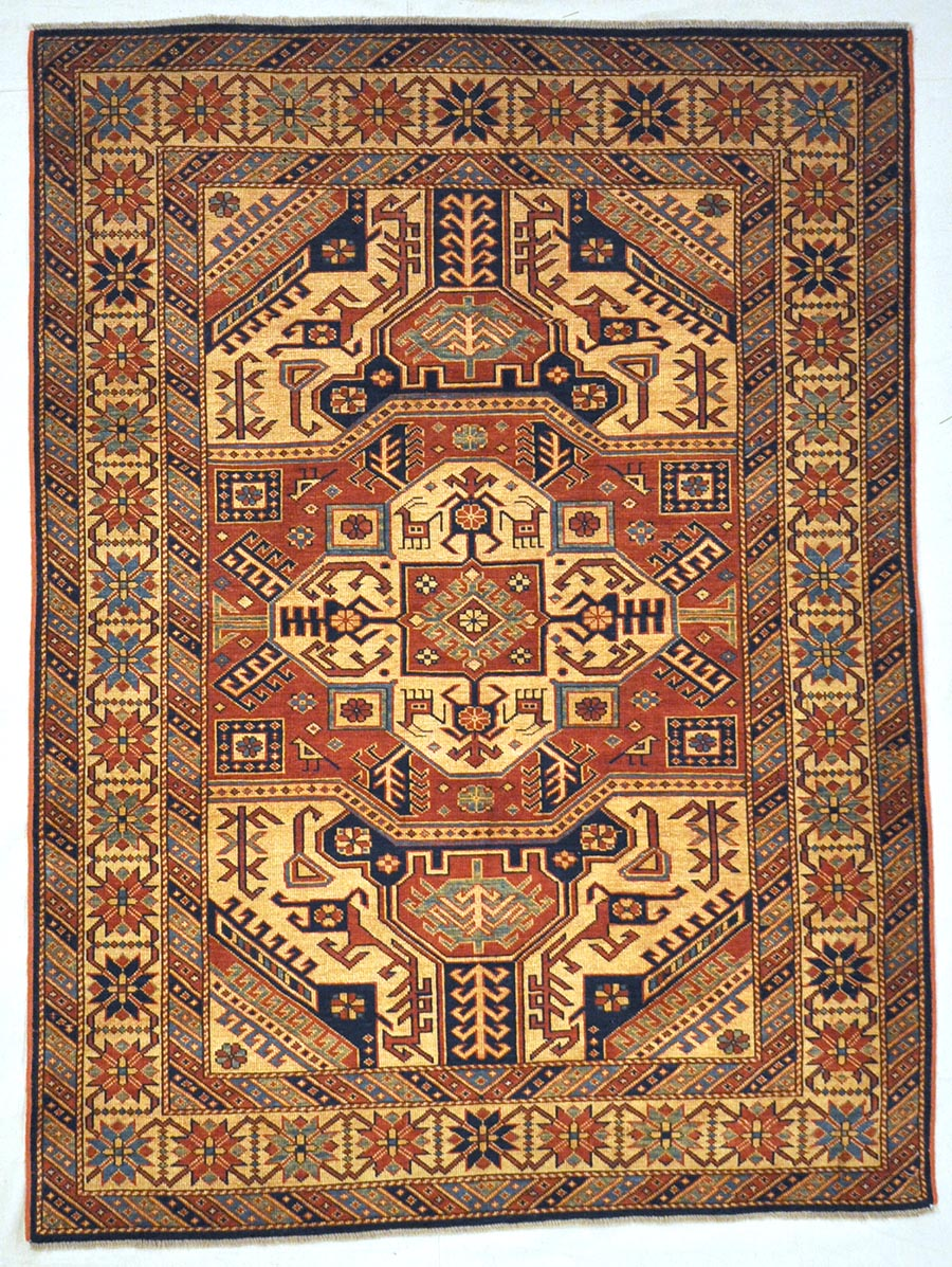 Fine Kazak Rug | Rugs and More | Santa Barbara Design Center