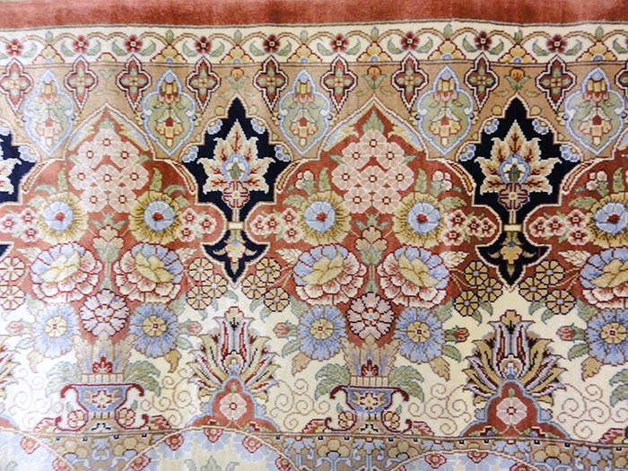 Finest Silk Hereke Carpet | Rugs & More | Santa Barbara Design Center 32615 1
