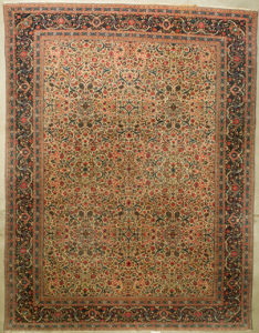 Rare Antique Dabir Kashan rugs and more oriental carpet 35496-1