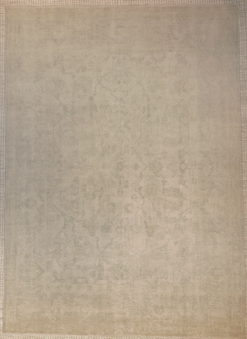 Finest Antiqued Usak Rug rugs and more oriental carpet 44072-1