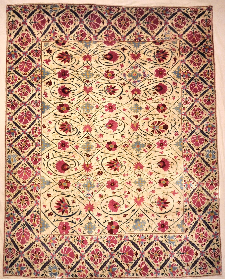 Silk Suzani | Rugs & More | Santa Barbara Design Center | 32704