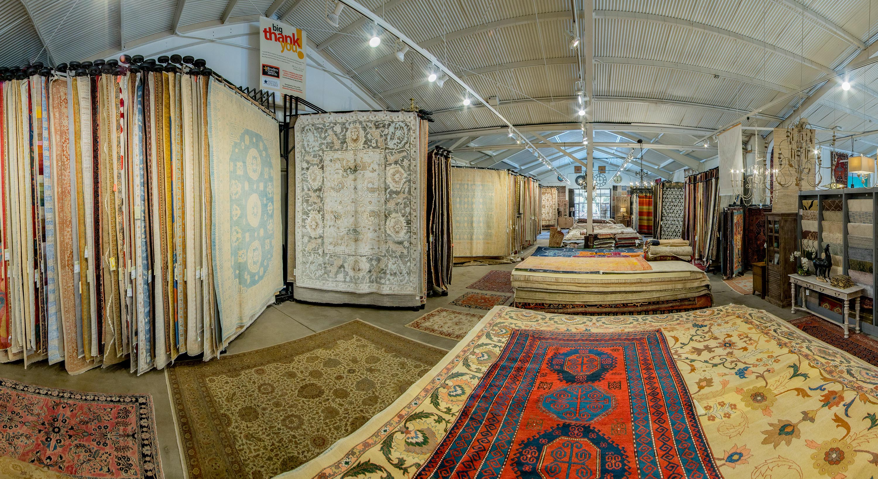 Oriental carpet Rugs & More provides the West Coast with the most comprehensive collection of new, antique, & oriental rugs.