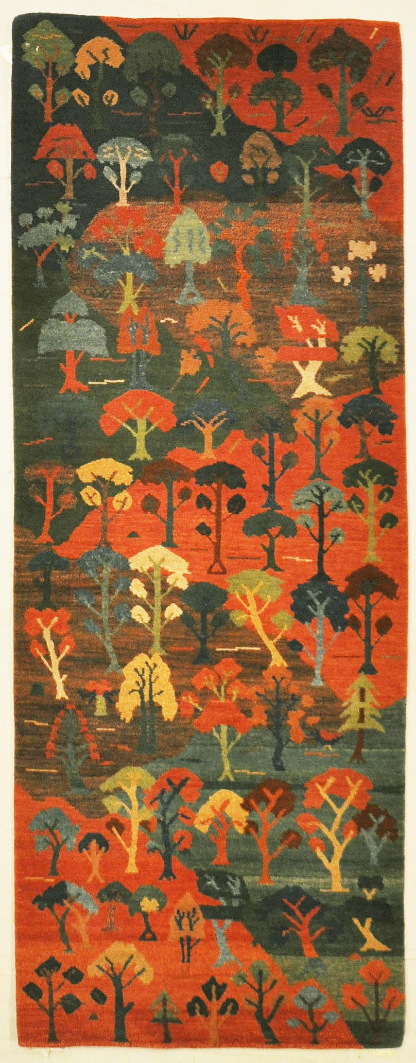 Tibetan Village runner rugs and more oriental carpet 35568-