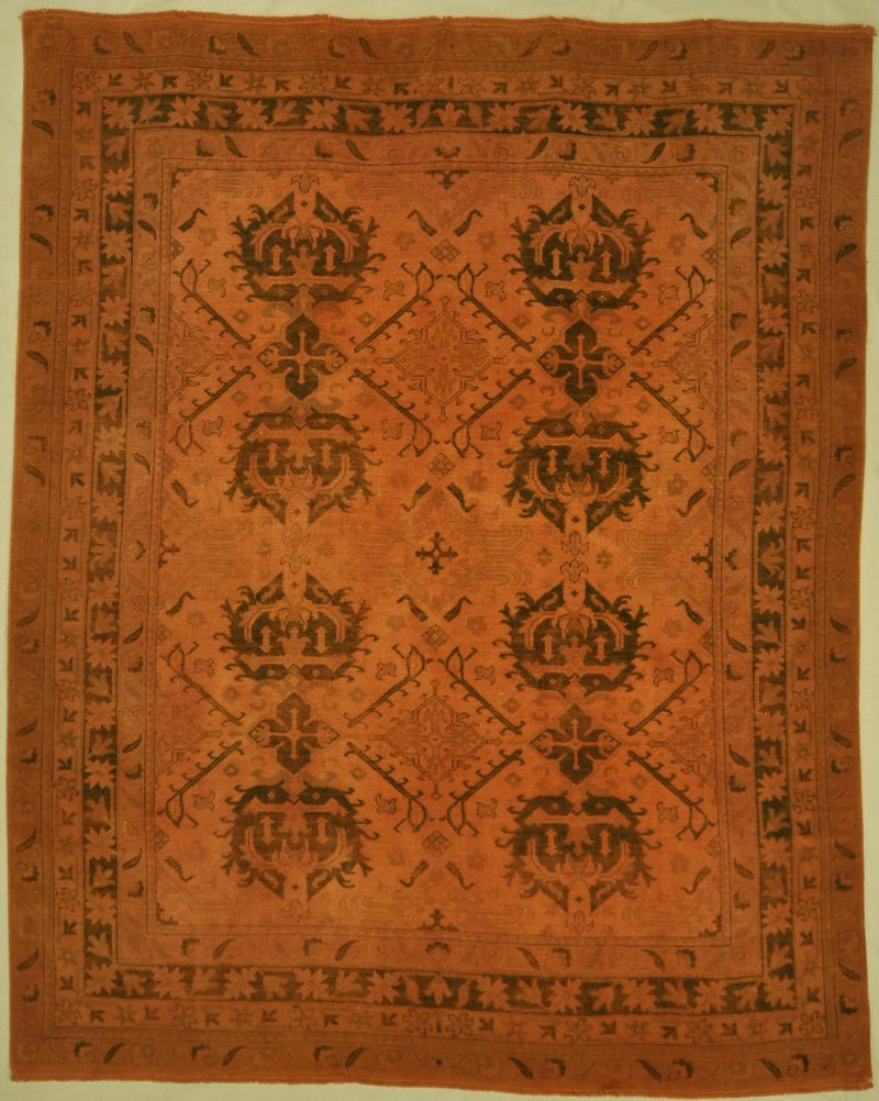 Fine Oushak Overdyed rugs and more oriental carpet 32784-