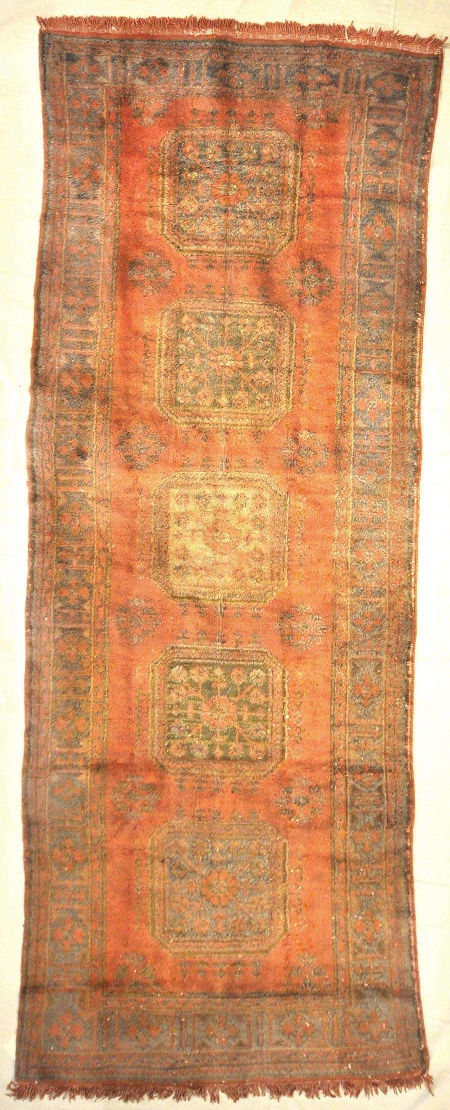 Antique Turkish Oushak Runner | Rugs and More | Santa Barbara Design 32799