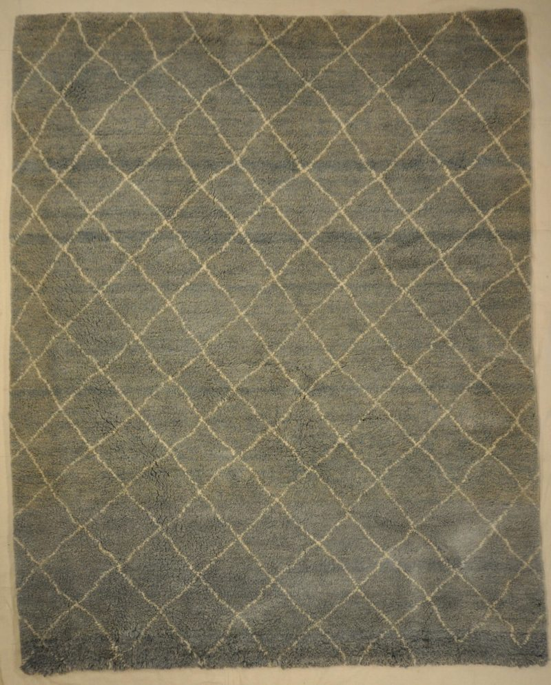 Blue/Grey Moroccan Rug rugs and more oriental carpet -