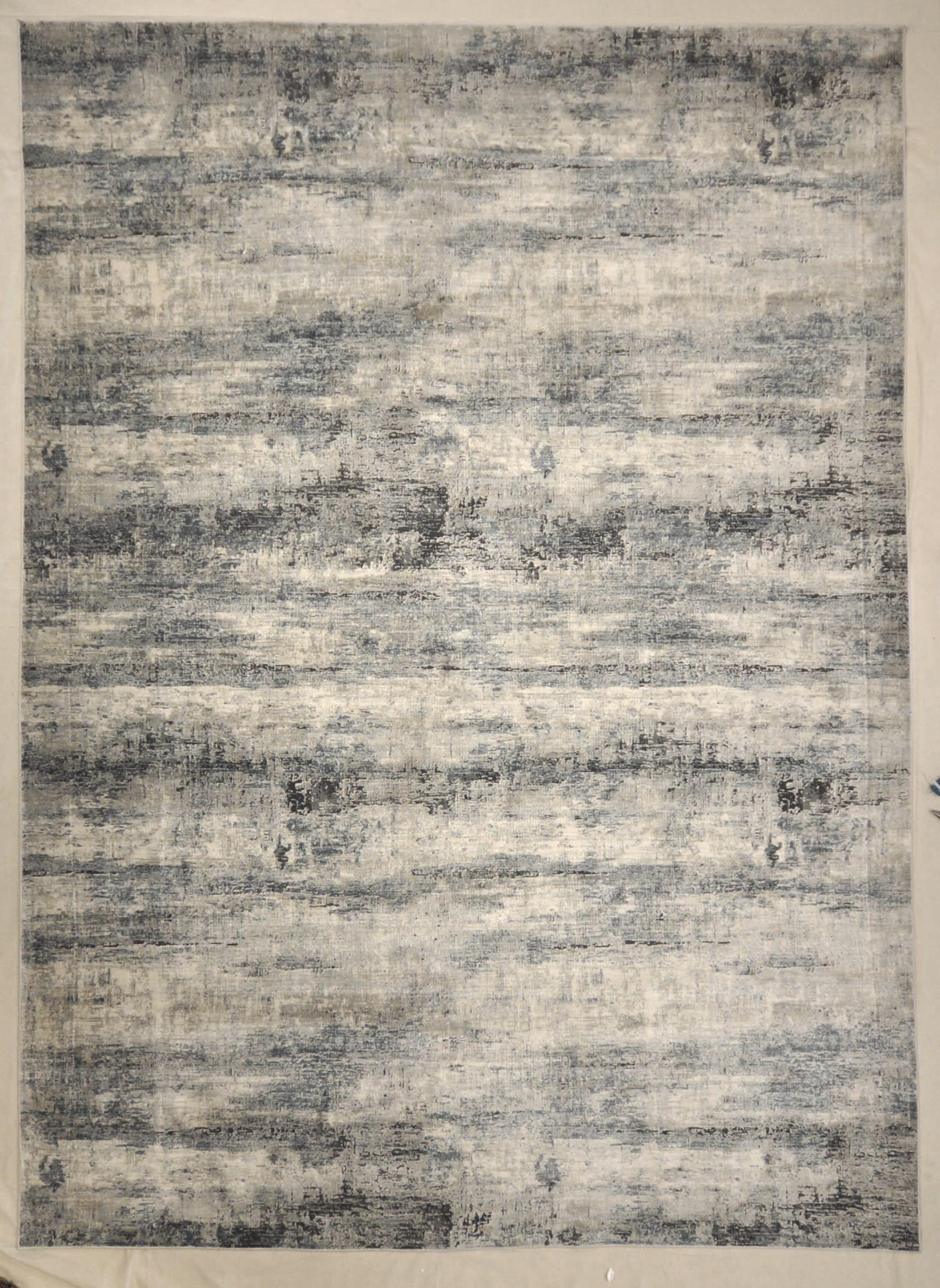 Modern Ocean Grey Rug | Rugs and More | Santa Barbara Design Center 33004