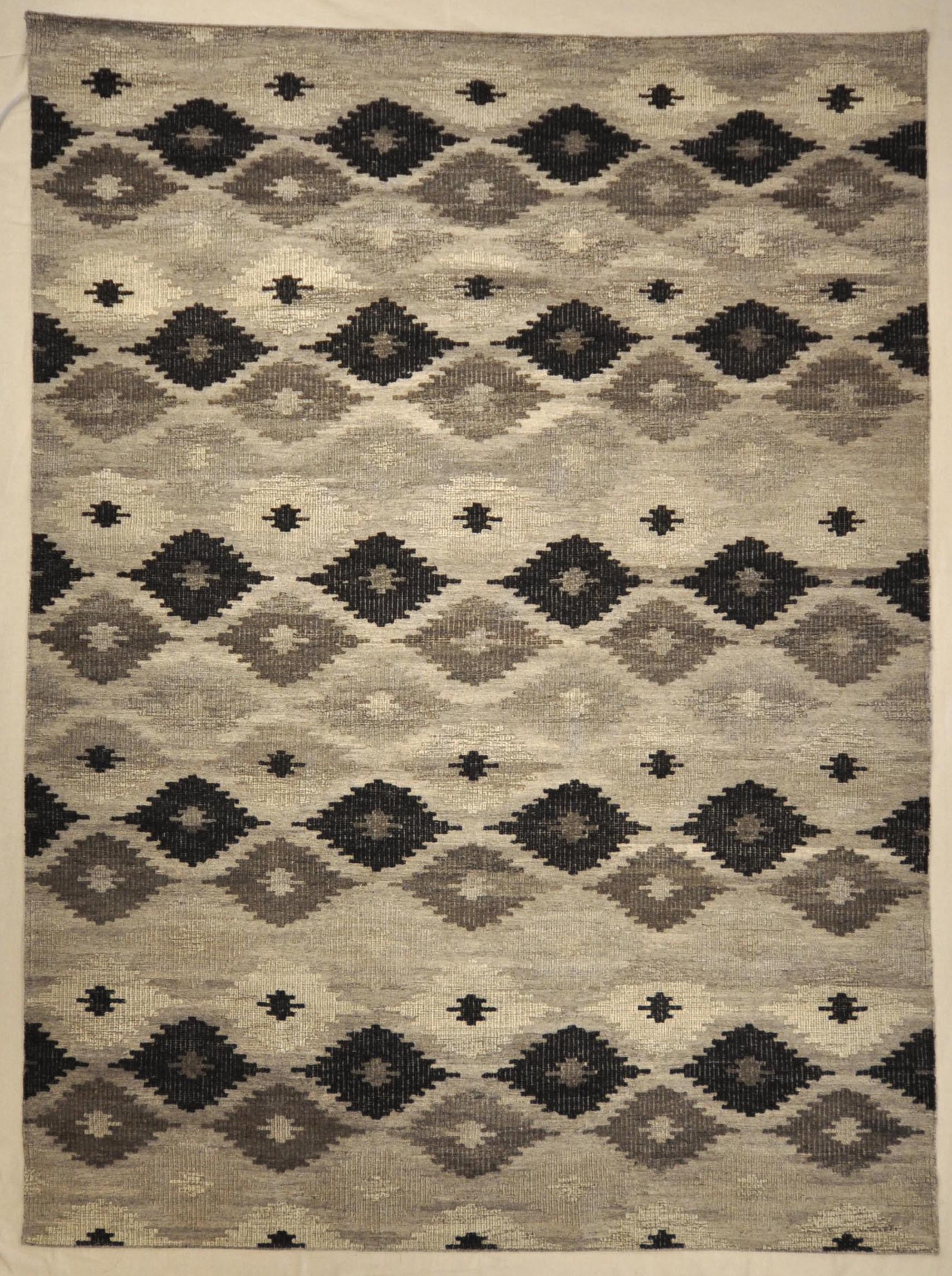 Modern Grey Charcoal Rug | Rugs and More | Santa Barbara Design Center 33000
